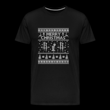 Houston rockets - Awesome Christmas basketball t - Men's Premium T-Shirt