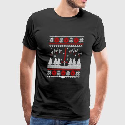 Ugly Christmas gift for Star Wars fan - Men's Premium T-Shirt