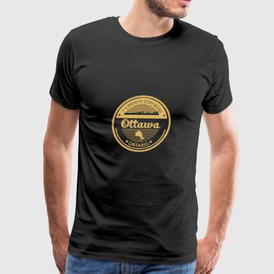 Ottawa - It's where my story begins t-shirt - Men's Premium T-Shirt