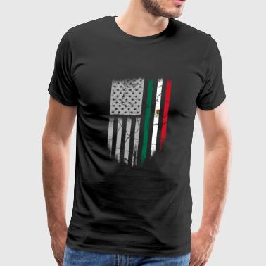 Mexican roots - Mexican roots t-shirt for americ - Men's Premium T-Shirt