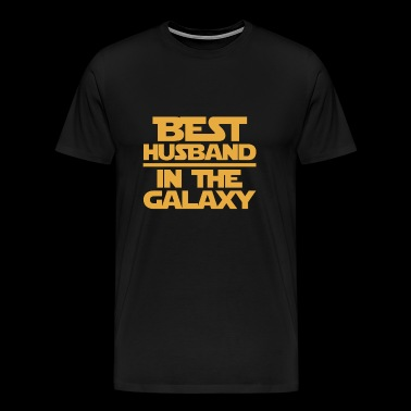Husband - THe best husband in the galaxy - Men's Premium T-Shirt