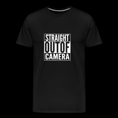 Camera - Let's straight out of camera t-shirt - Men's Premium T-Shirt