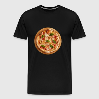 pizza margherita pizzeria food essen - Men's Premium T-Shirt