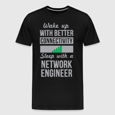 Funny Network engineer - Men's Premium T-Shirt