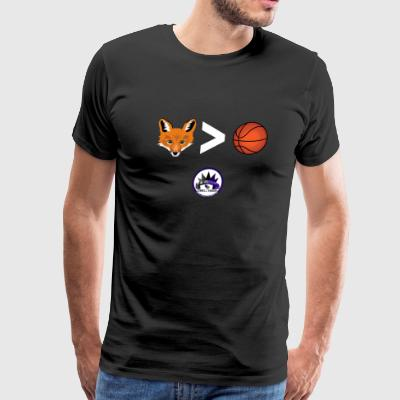 Fox is Greater-than Ball - Men's Premium T-Shirt
