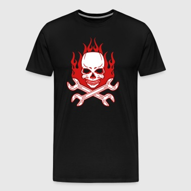 Tuning Skull - Men's Premium T-Shirt
