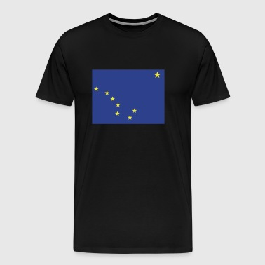 Flag of Alaska - Men's Premium T-Shirt