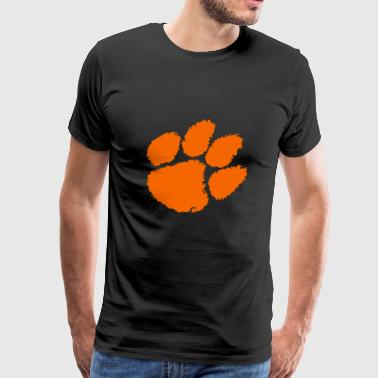 Clemson University Tiger Paw logo svg - Men's Premium T-Shirt