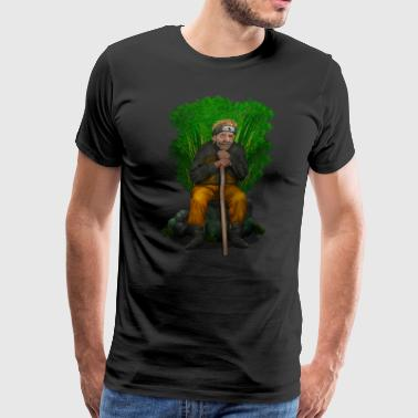 Old Ninja T-SHIRT - Men's Premium T-Shirt