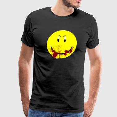 Zombie Smiley - Men's Premium T-Shirt