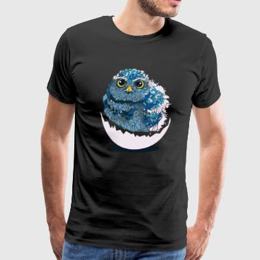 Baby owl - Men's Premium T-Shirt