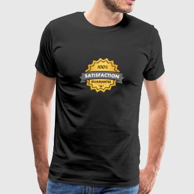 Satisfaction Guarantee 100% Gift Idea - Men's Premium T-Shirt