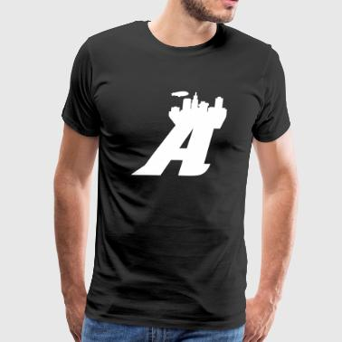 Akron Skyline - Men's Premium T-Shirt
