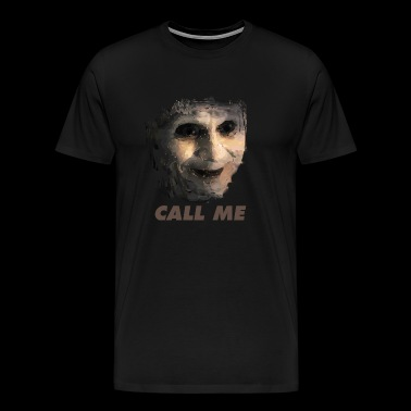 Call Me - Lost Highway Mystery Man - Men's Premium T-Shirt