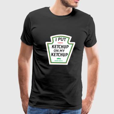 ketchup - Men's Premium T-Shirt