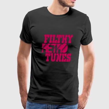 filthy retro tunes - Men's Premium T-Shirt