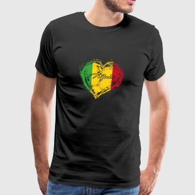 HOME ROOTS COUNTRY GIFT LOVE Mali - Men's Premium T-Shirt