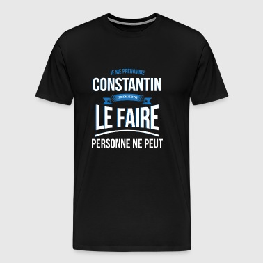 Constantine no one can gift - Men's Premium T-Shirt