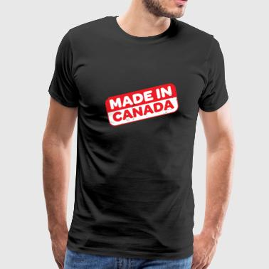 Made in Canada - Men's Premium T-Shirt