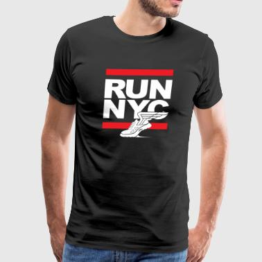 Run NYC Marathon - Men's Premium T-Shirt