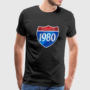 Since 1980 - Men's Premium T-Shirt