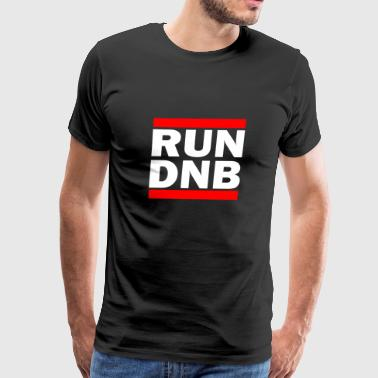 DnB Drum and Bass Shirt Rave DJ Electronic Music - Men's Premium T-Shirt
