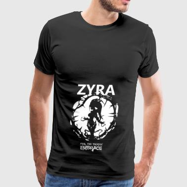 Zyra Feel the thorns, Embrace - Men's Premium T-Shirt
