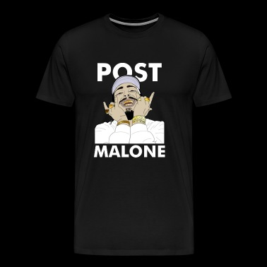 Cool famous malone - Men's Premium T-Shirt