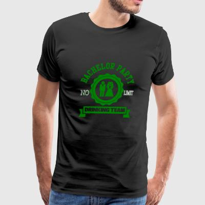 GIFT - BACHELOR PARTY TEAM GREEN - Men's Premium T-Shirt