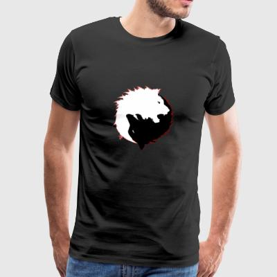 The Wolf and The Lion - Men's Premium T-Shirt