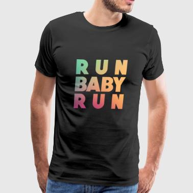 Run Baby Run - Men's Premium T-Shirt