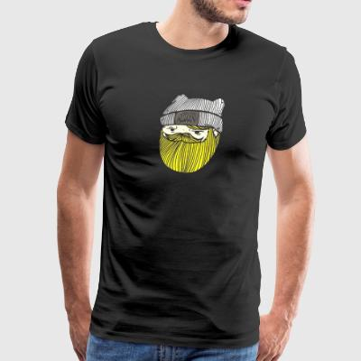 Adventure Time Finn the human Jake beard - Men's Premium T-Shirt