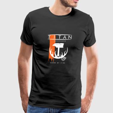 tian flag - Men's Premium T-Shirt