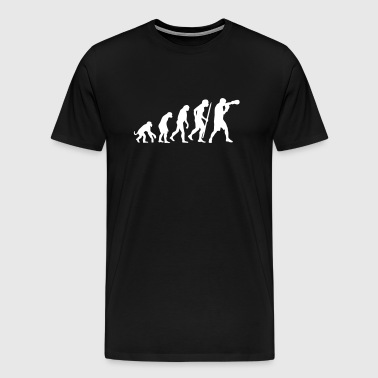 Evolution of boxing - Men's Premium T-Shirt