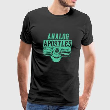 Analog Apostles - Men's Premium T-Shirt