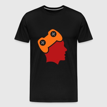 game_addict_01 - Men's Premium T-Shirt