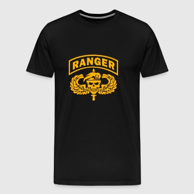 US Army Ranger Skull - Men's Premium T-Shirt