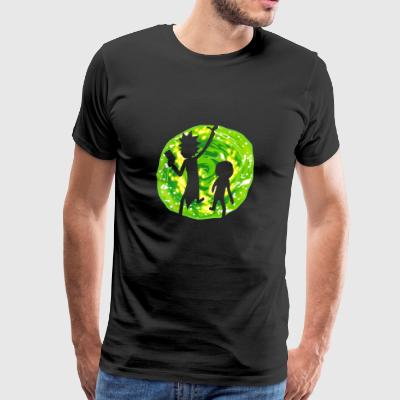rickmorty - Men's Premium T-Shirt