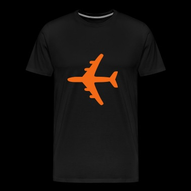 2541614 11125078 flugzeug - Men's Premium T-Shirt