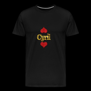 Cyril - Men's Premium T-Shirt