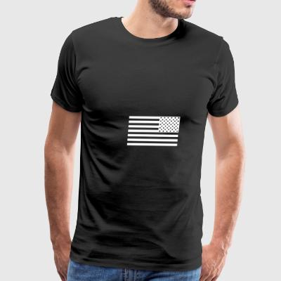 Flag white - Men's Premium T-Shirt