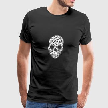 SOCCER SKULL BONES Ball fan Champions League CUP - Men's Premium T-Shirt