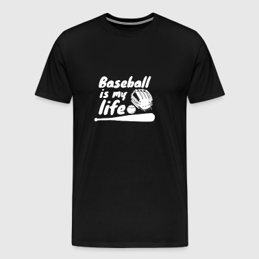 Baseball - Baseball Player - Gift - Baseball shirt - Men's Premium T-Shirt