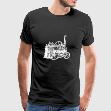 STEAM MACHINE - STEAMPUNK - Men's Premium T-Shirt