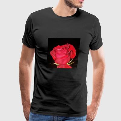Love like a red, red rose - Men's Premium T-Shirt