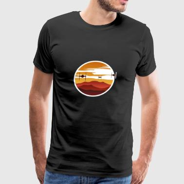 To the sunset - Men's Premium T-Shirt