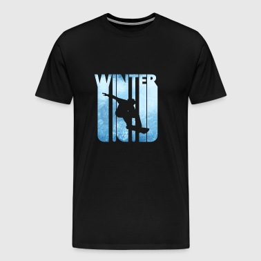 Vintage Winter Sports Snowboarding.Christmas Gifts - Men's Premium T-Shirt