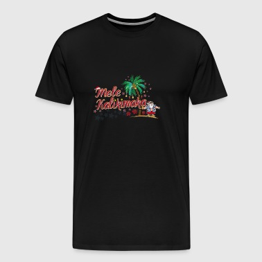 Mele Kalikimaka Merry Christmas Cool Hawaii - Men's Premium T-Shirt