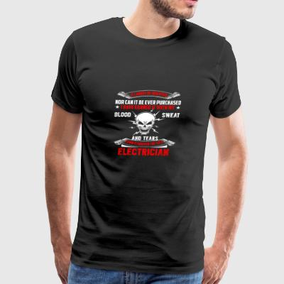 Funny Electrician Tshirt Great Gift - Men's Premium T-Shirt