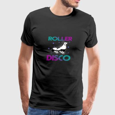 Cool Vintage Roller Disco Retro 70s and 80s party - Men's Premium T-Shirt